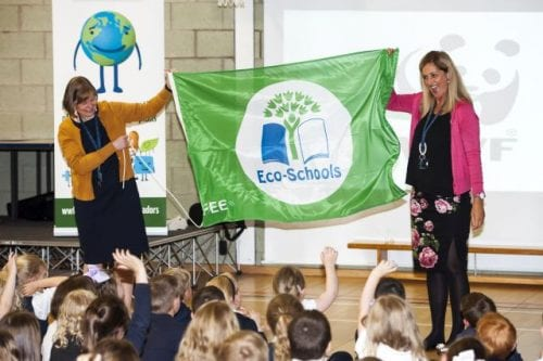 Stobhill Primary Achieve Green Flag Status