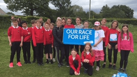 Race For Life at Rosewell – Target Smashed!