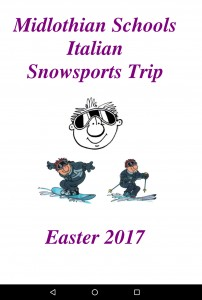 Information brochure on Ski Aosta 2017