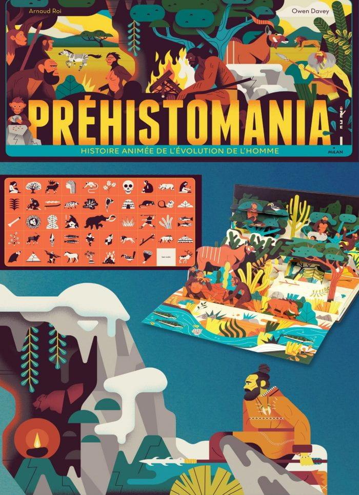 PREHISTOMANIA Publisher: Editions Milan Illustrator: Owen Davey