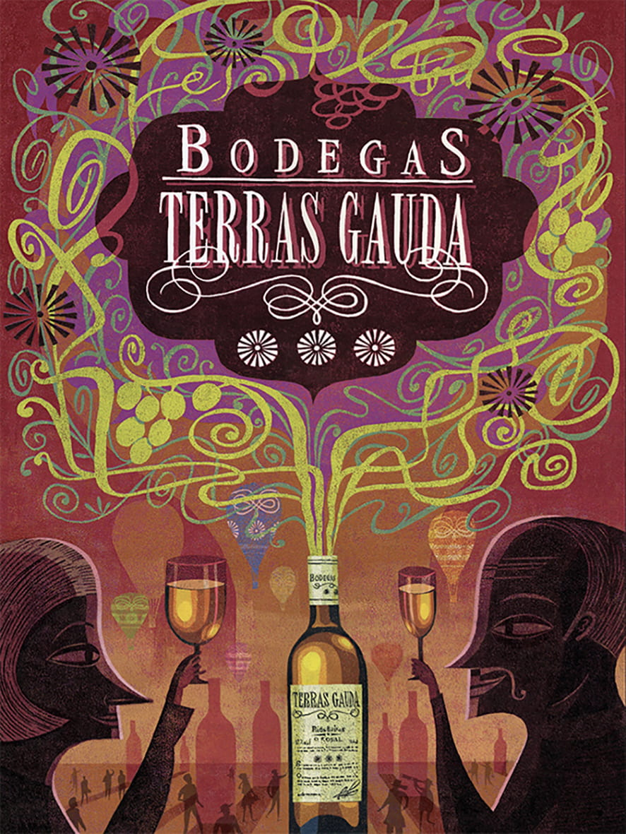 1. Bodegas Terras Gaudas: Longlisted for the Francisco Mantecon Poster Competition (Spain)