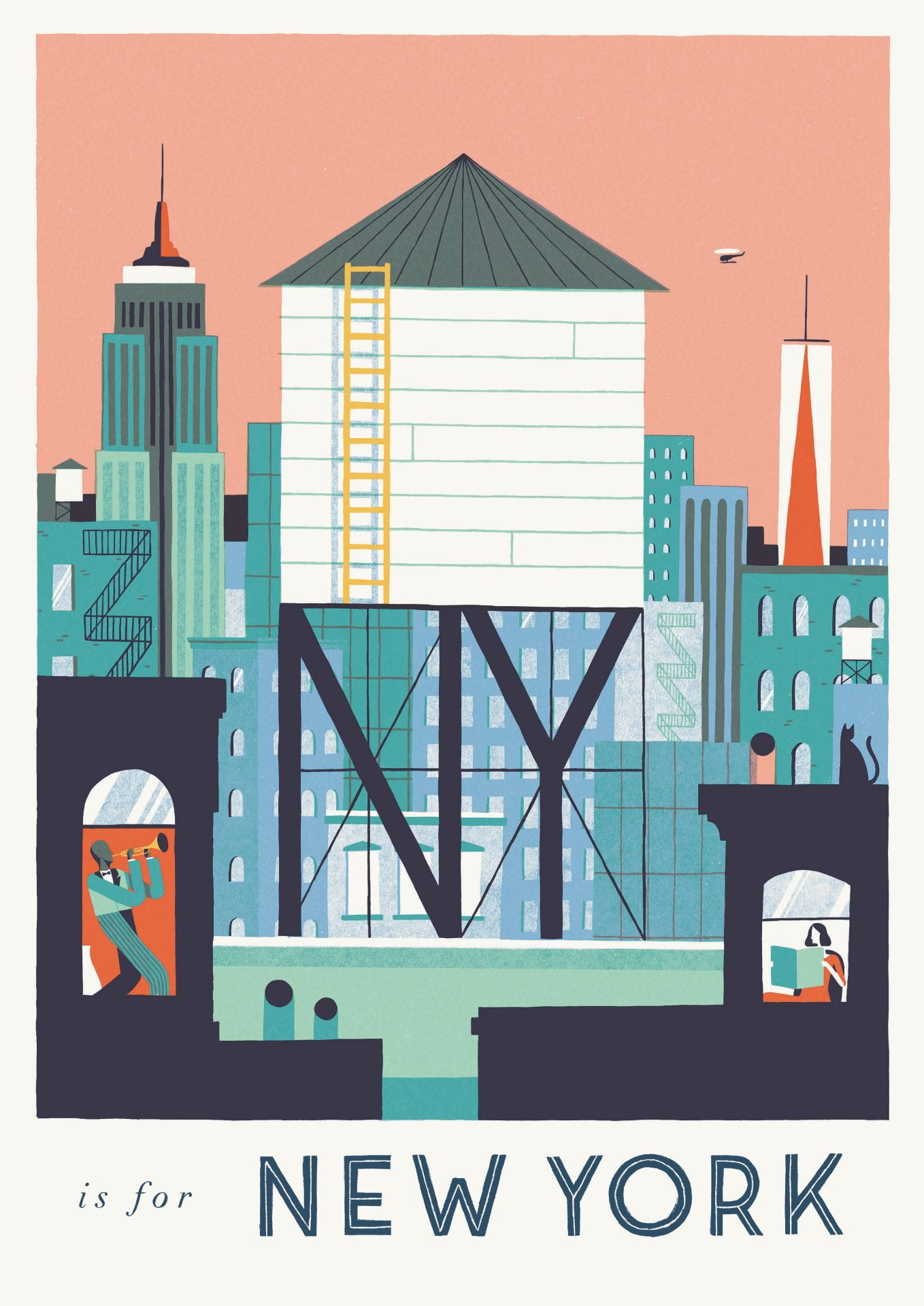 'Alphabet Cities, Around the World in 32 Pull-Out Prints'