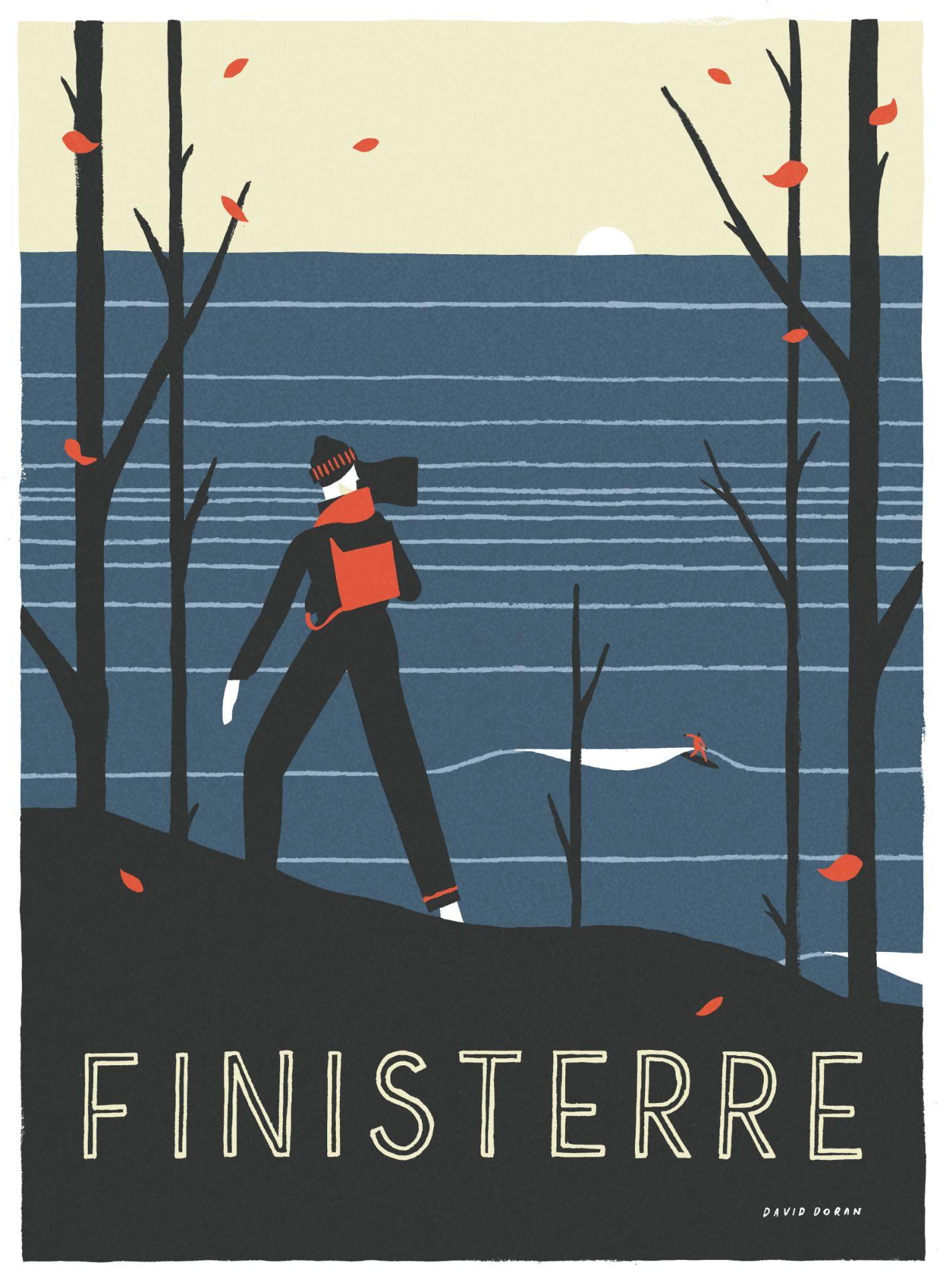 'Finisterre' Campaign Illustration