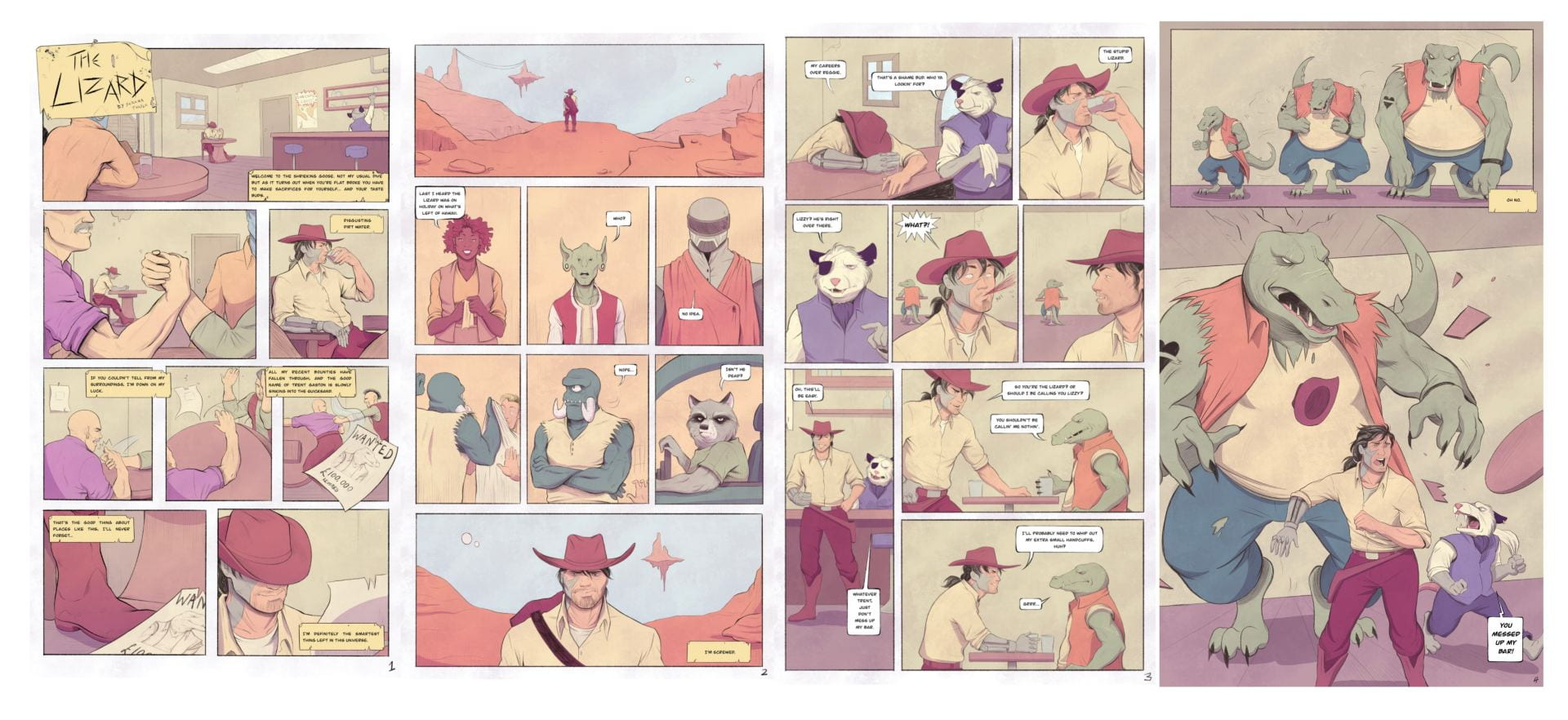 LONGLISTED FOR THE OBSERVER/JONATHAN CAPE GRAPHIC SHORT STORY Serena Turtle