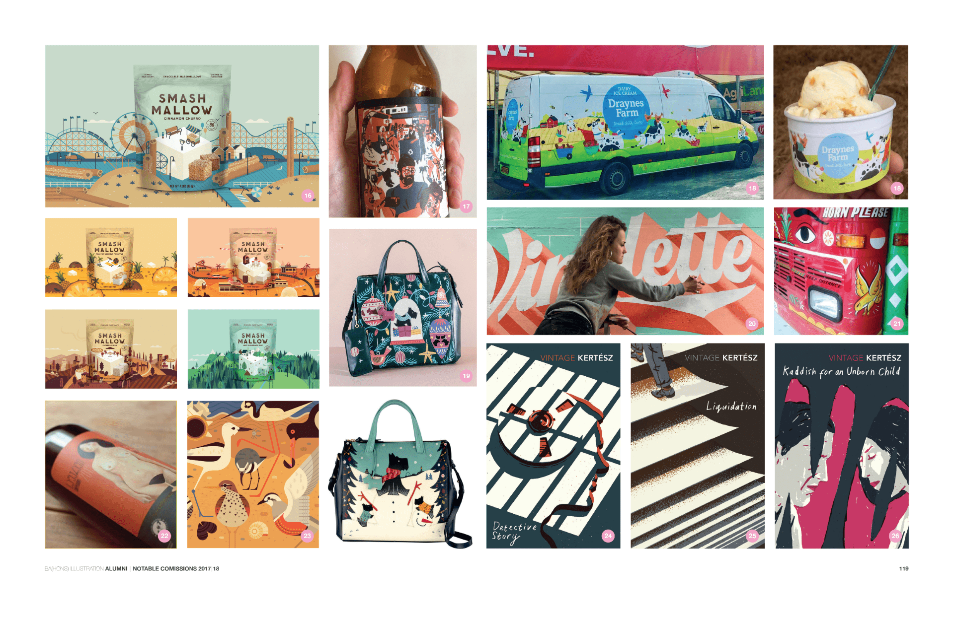 Wunderkammer 2018 Notable Commissions Double Spread