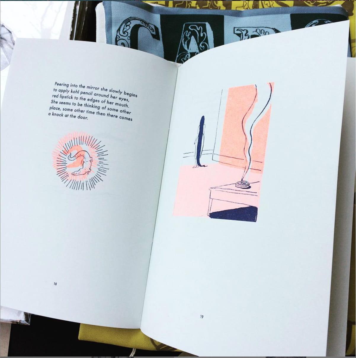 Illustrator & Author, Siguanaba Illustrated Short story 2016