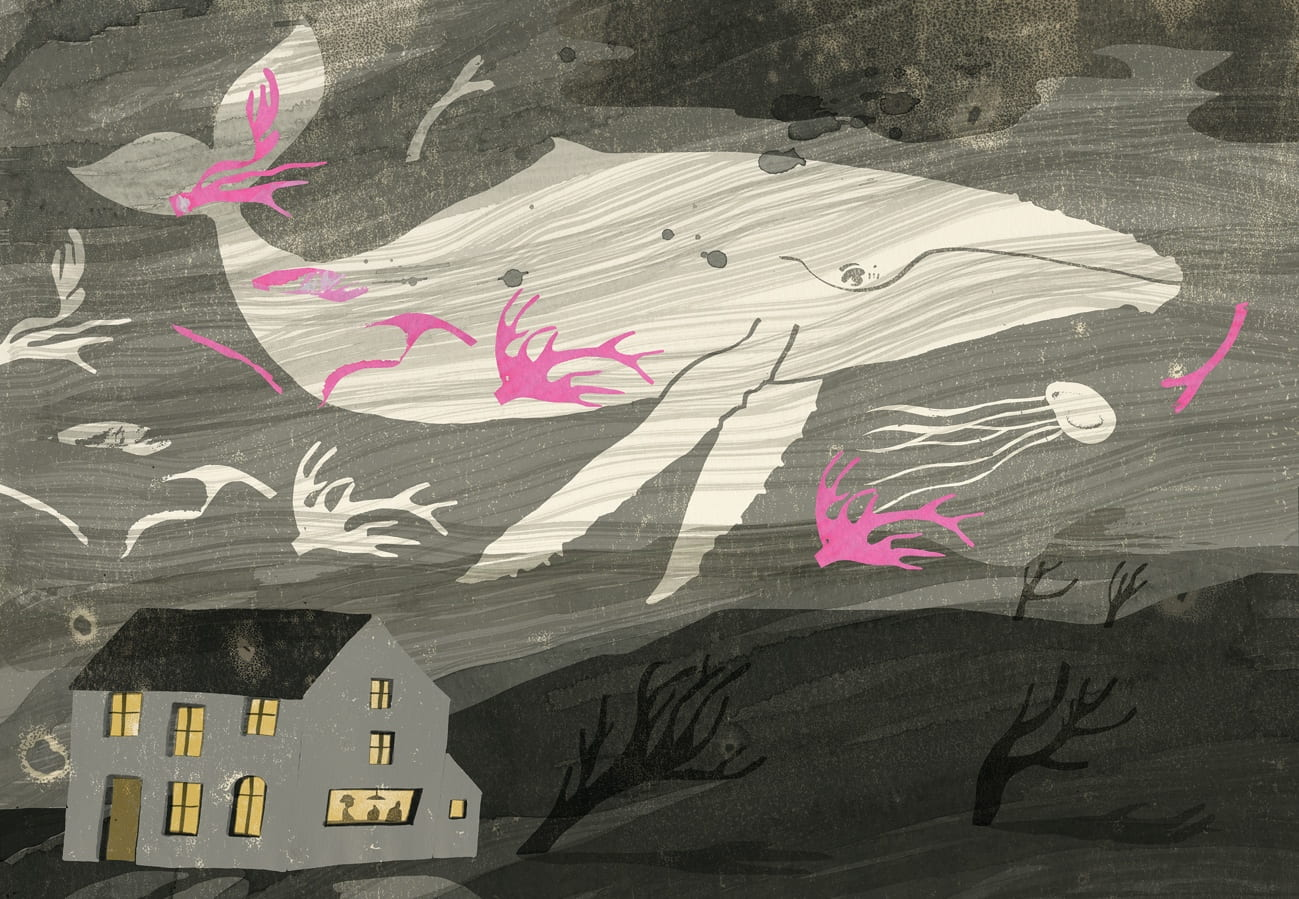 Searching For Snow, Dream Page, Picture Book, Speculative