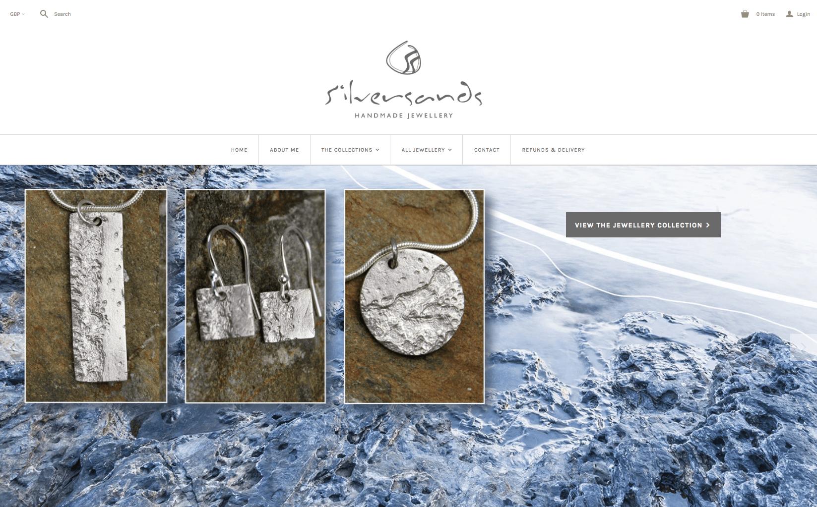 'Silversands' Handmade Silver Jewellery