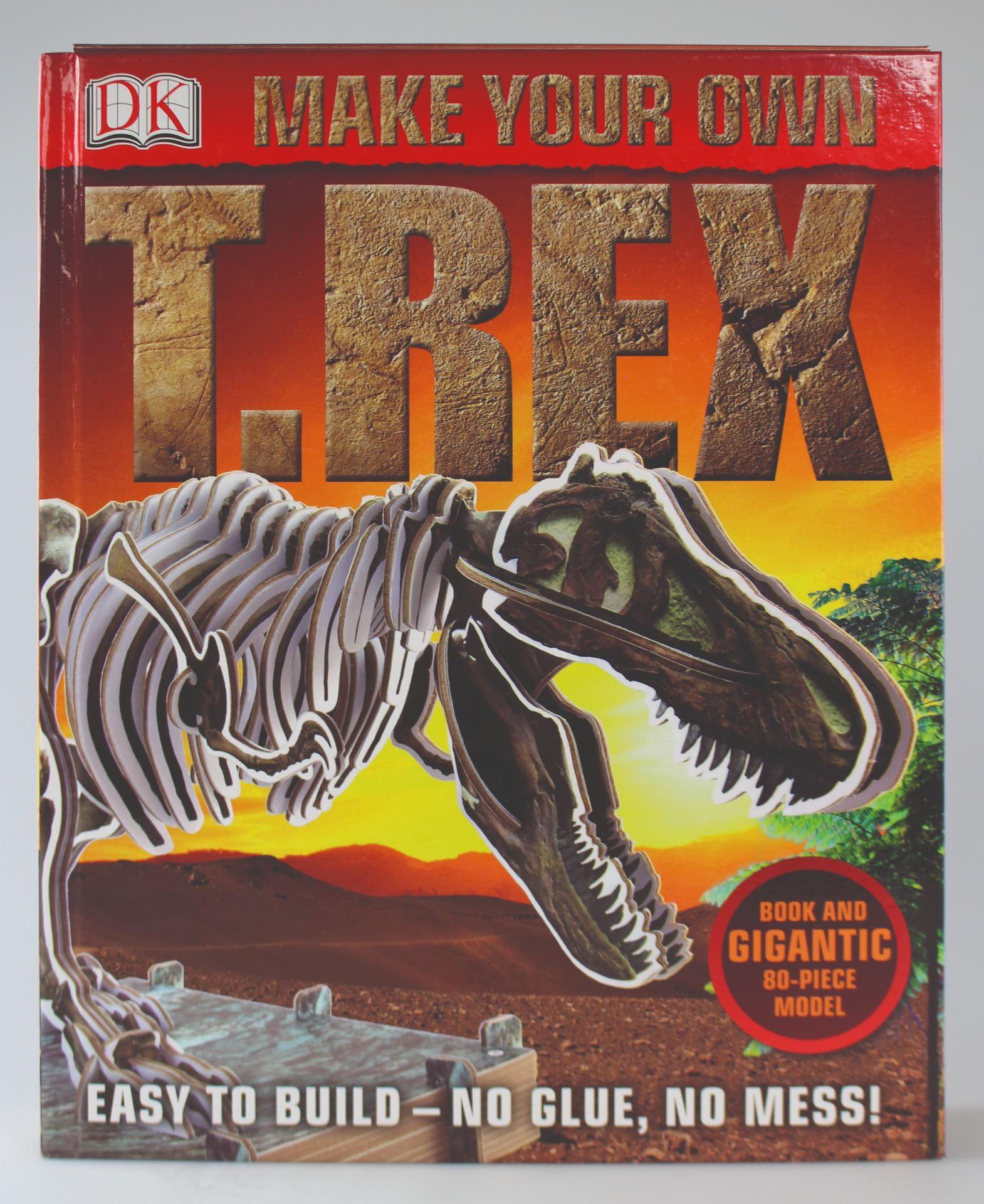 'Dorling Kindersley', 'Make Your Own T.Rex' Project Art Editor & Paper Engineer Jemma Westing