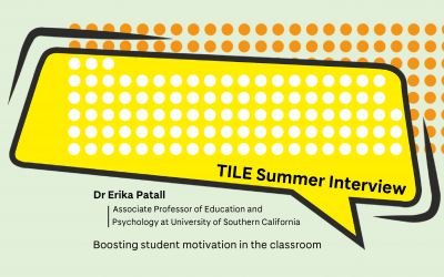 Boost Student Motivation in the Classroom: An Interview with Dr Erika Patall