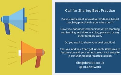 Call for Sharing Best Practice