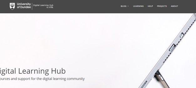 New Digital Learning Hub