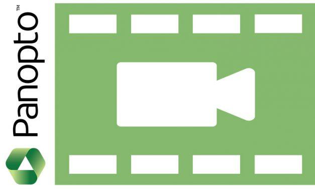 Panopto: Video Management Pilot