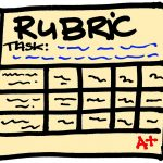 Rubrics and Grading forms – the benefits they bring to staff and students