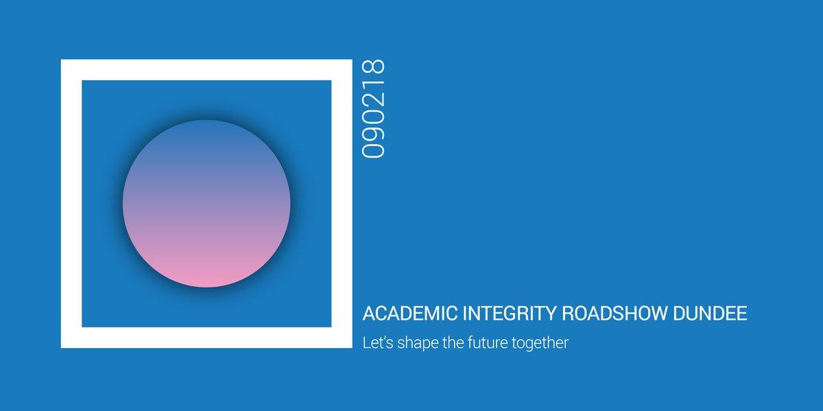 Academic Integrity event.