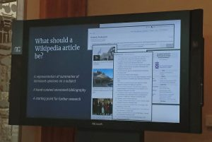 key points that wikipedia should be