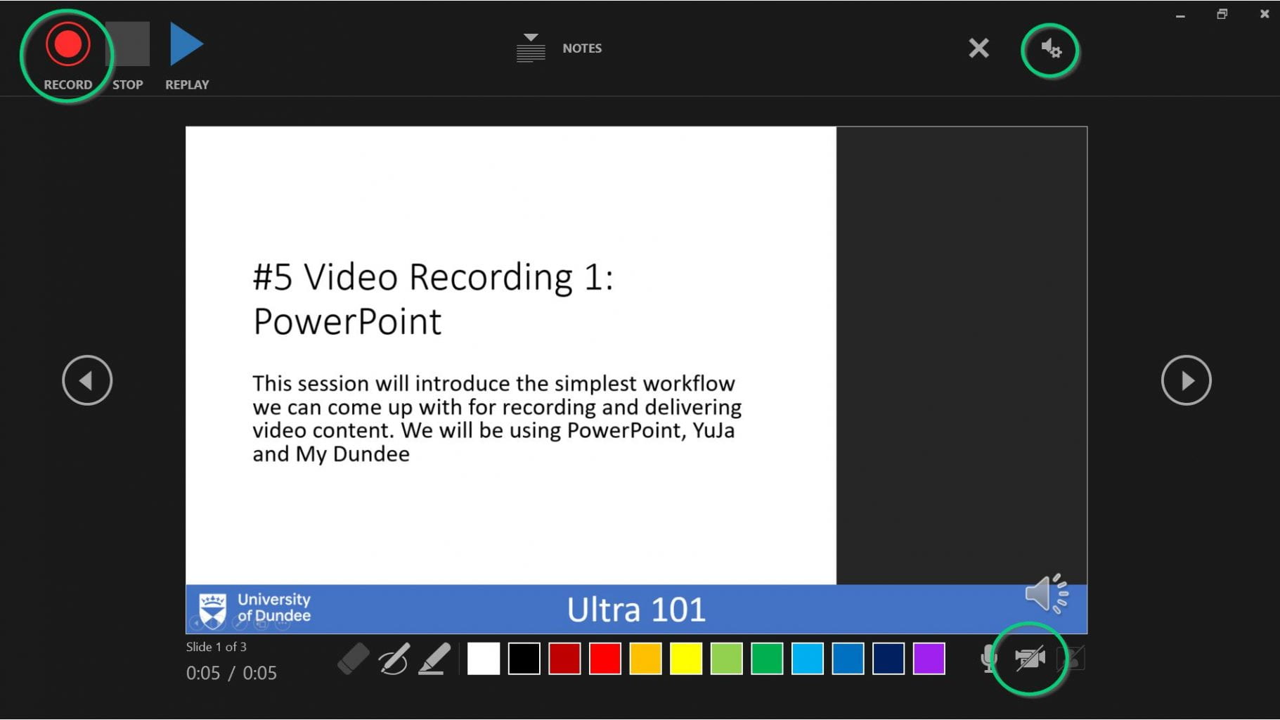 How to record powerpoint