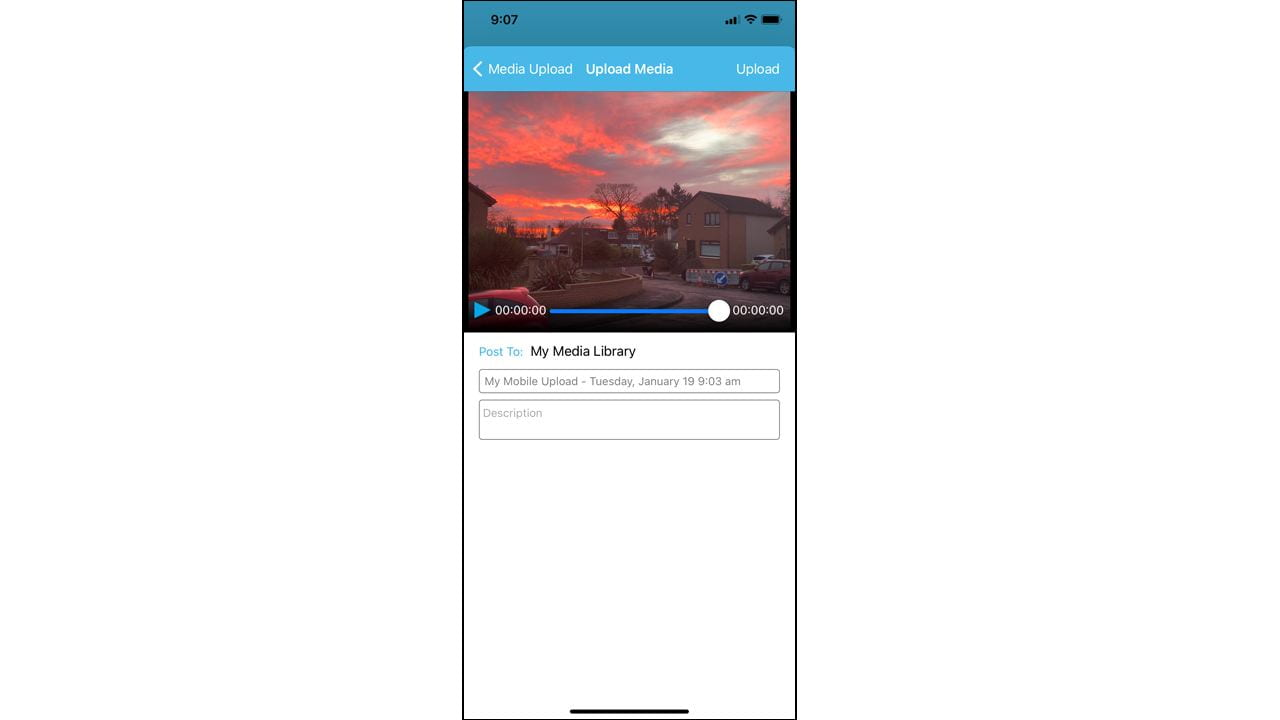 JuYa app post to screen