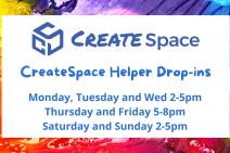 CreateSpace Drop-ins