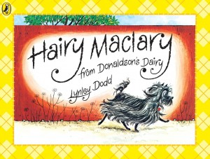 Hairy Mclary Book used by the group.