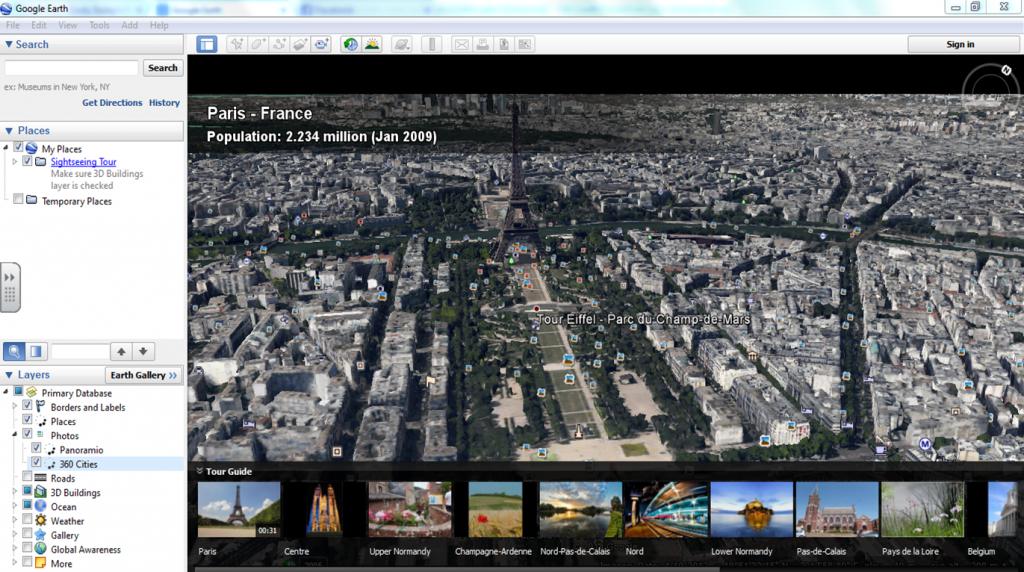 Google Earth Showcase