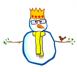 My Snowman. Click to make your own.