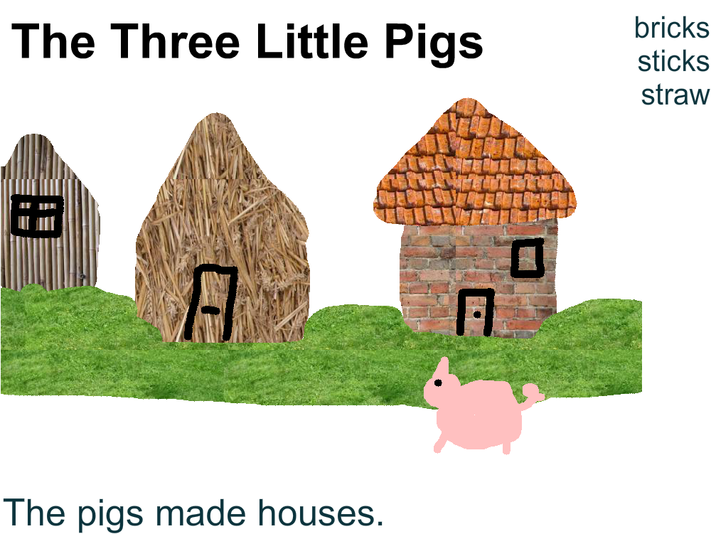 Three little pigs brick house cijr5063littlepigs07 an excellent project on - Brick houses three beautiful economical projects ...