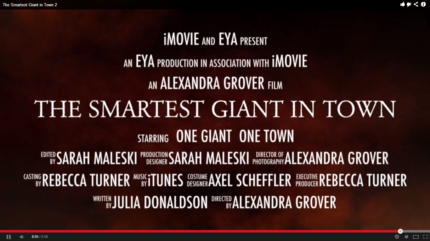 The Smartest Giant In Town Trailer on The Smartest Giant In Town