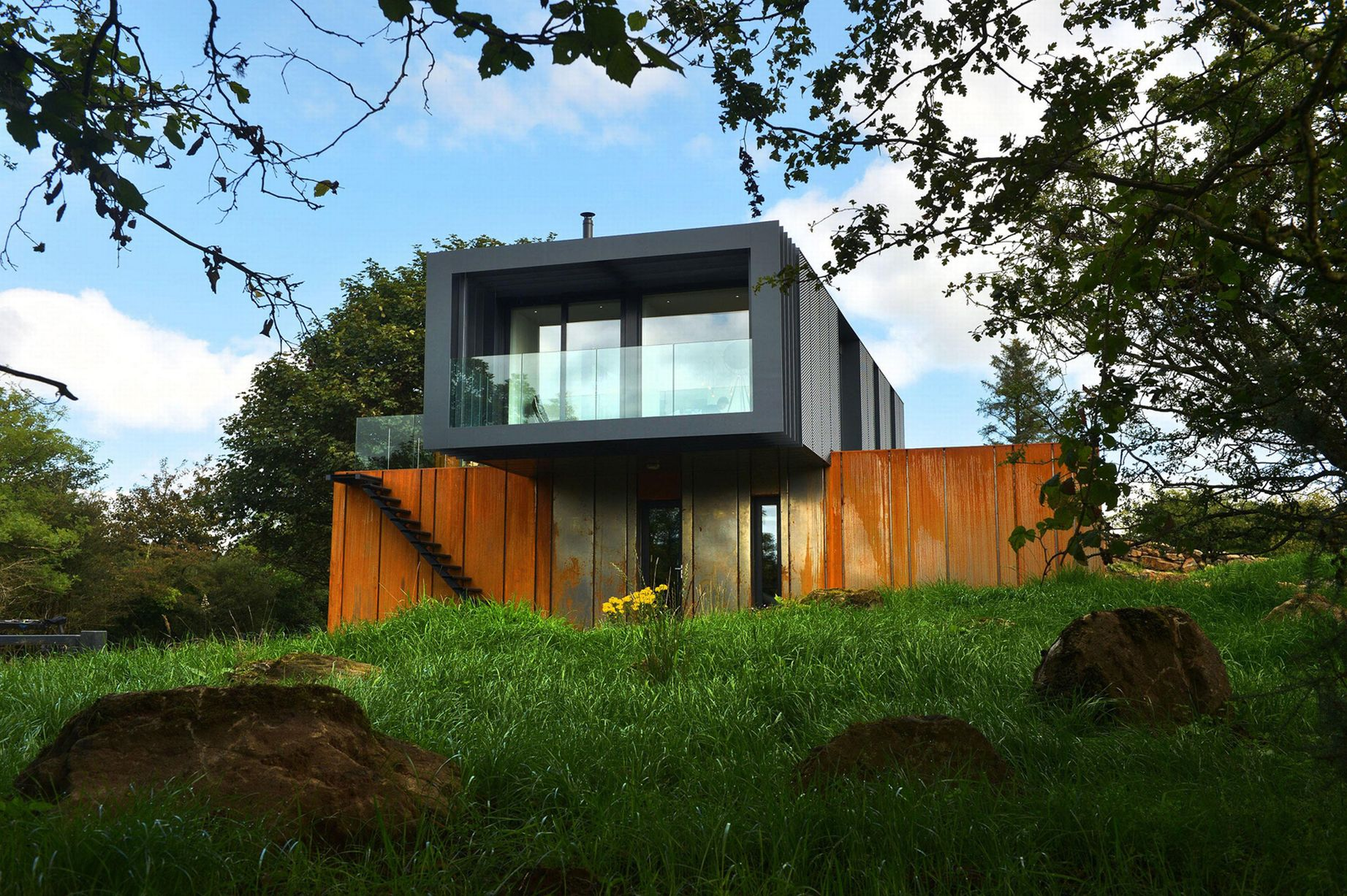 Of the week 1 patrick bradley the shipping container - German prefab homes grand designs ...