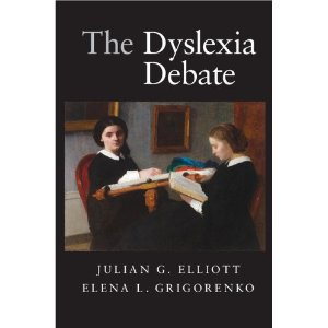 The Dyslexia Debate  by Julian Elliott and Elena L. Grigorenko. Cambridge University Press (2014) ISBN: 978-051135870