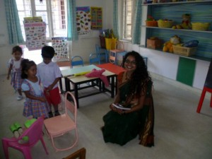 Aishwarya leading the way towards the development of inclusive pre-school provision in Bangalore