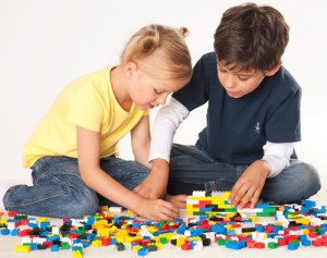 Young architects and designers of the future learning through play with Lego