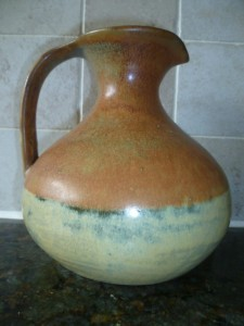 Jug by George Georgiades purchased from his studio in Lemba