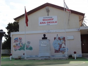 A school in Famagusta Northern Cyprus. Not so different from others elsewhere in the world.