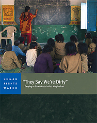 This report from Human Rights Watch raises a number of disturbing issues regarding obstacles to the creation of a more inclusive education system.