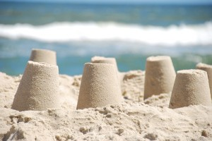 Summer is on the way - let's go and make some sandcastles!