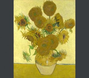 Vincent Van Gogh's Sunflowers. Universally loved and able to move