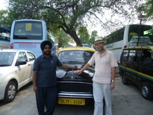 For how much longer will our friendly Delhi taxi driver be at the wheel of an Ambassador I wonder?