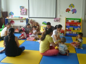 Parents and children together as learners in Urumqi