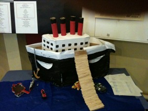 The Titanic - not unsinkable as any Irish school child will tell you!