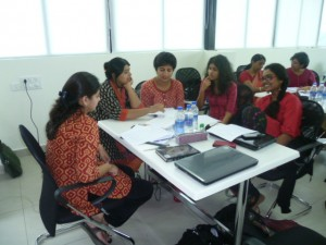 This students on the MA in Special and Inclusive Education in Bangalore are coming to the end of their studies. This course would never have been developed without the inspiration of two outstanding Indian teachers