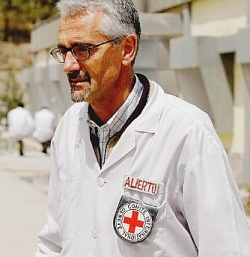 Alberto Cairo, a brave Italian with a big heart, serving the people of Afghanistan.