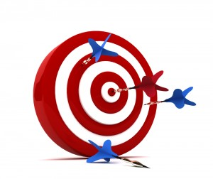 It's not possible to hit the middle of the target everytime, but that shouldn't discourage us from trying.