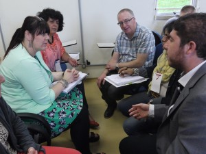 A respectful sharing ideas helps to generate ideas for further collaboration