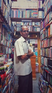 This gentleman provides expertise through his passion for books that draws me back to his shop in Jayanagar.