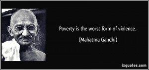 Poverty will not be eradicated by simply blaming the poor for their own circumstances.