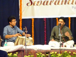 This young vocalist, accompanied by a tabla player had an amazing range and tone of voice. I could have happily  listened to him all day.
