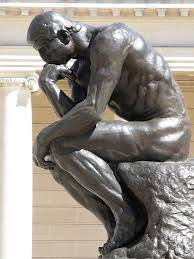 If my laundry doesn't arrive sooon I shall be as naked as Rodin's thinker. Then they'll be sorry!