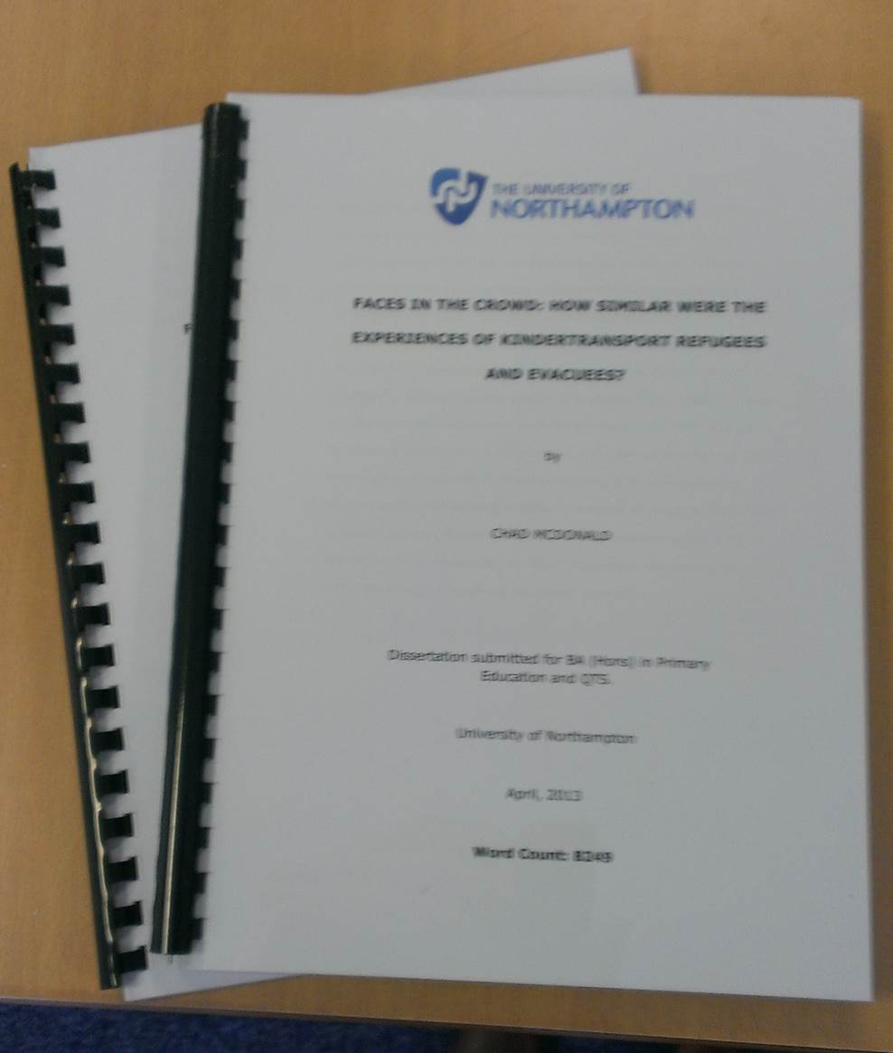 phd thesis on history