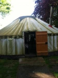 The Yurt, Green Park